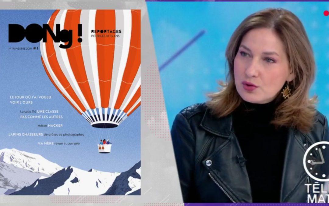DONG ! dans Télématin sur France 2