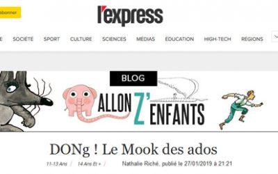 L'Express [Blog] | DONg ! Le Mook des ados